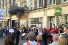 Vigil for people killed and injured in Manchester terror attack being held in Newport