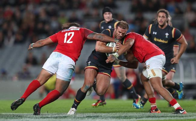 POSITIVE: Wales centre Jamie Roberts tested positive for coronavirus