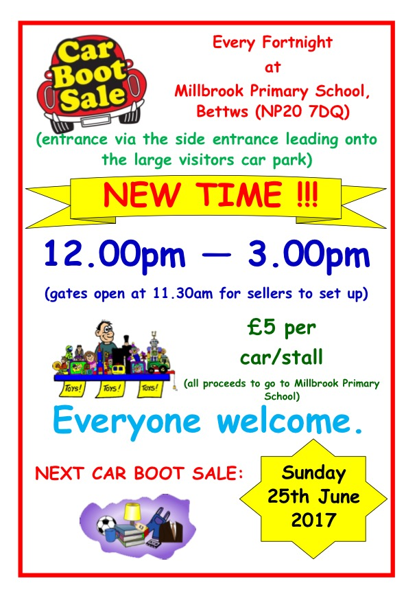 Millbrook Car Boot Sale