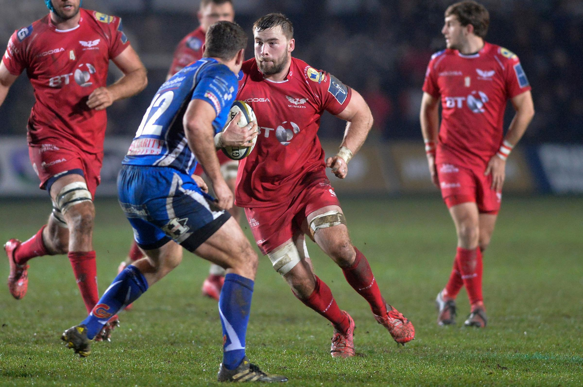 Bedwas swoop for former Ospreys and Scarlets powerhouse Morgan Allen