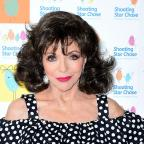 South Wales Argus: Actress Joan Collins comments on BBC pay gap dispute