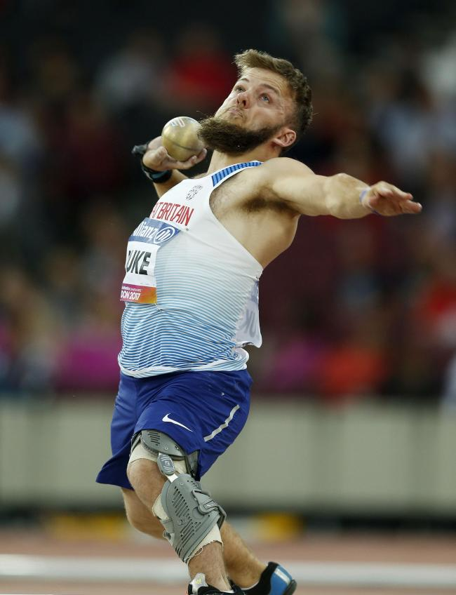 RECORD-BREAKER: Kyron Duke is celebrating a new F41 shot put world record. Picture from files