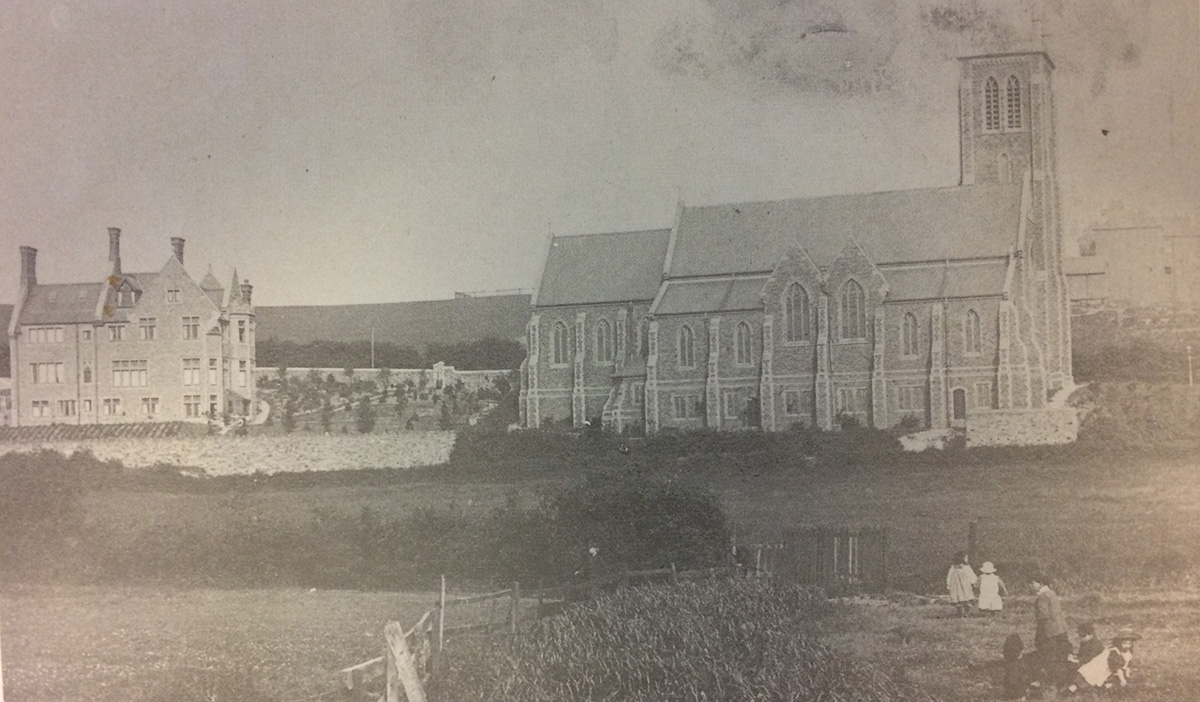 NOW AND THEN: All Saints Parish Church, Brynglas, Newport