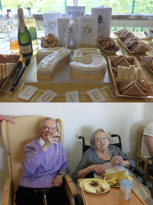 Care home in Griffithstown hosts party to celebrate residents\' 75th ...