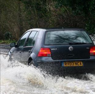 Warning as heavy rain hits Gwent