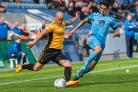 STAYING: Veteran defender David Pipe will remain at Newport County next season. Pictures: Huw Evans Agency