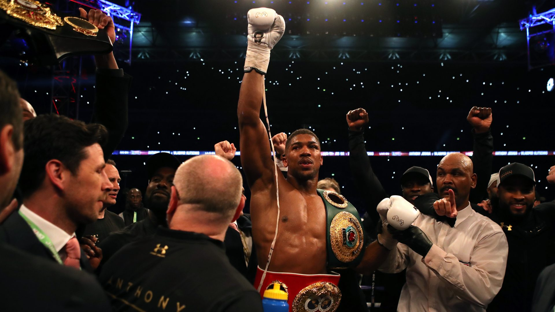 Hotels in Gwent are filling up for next month's Anthony Joshua fight with Kubrat Pulev