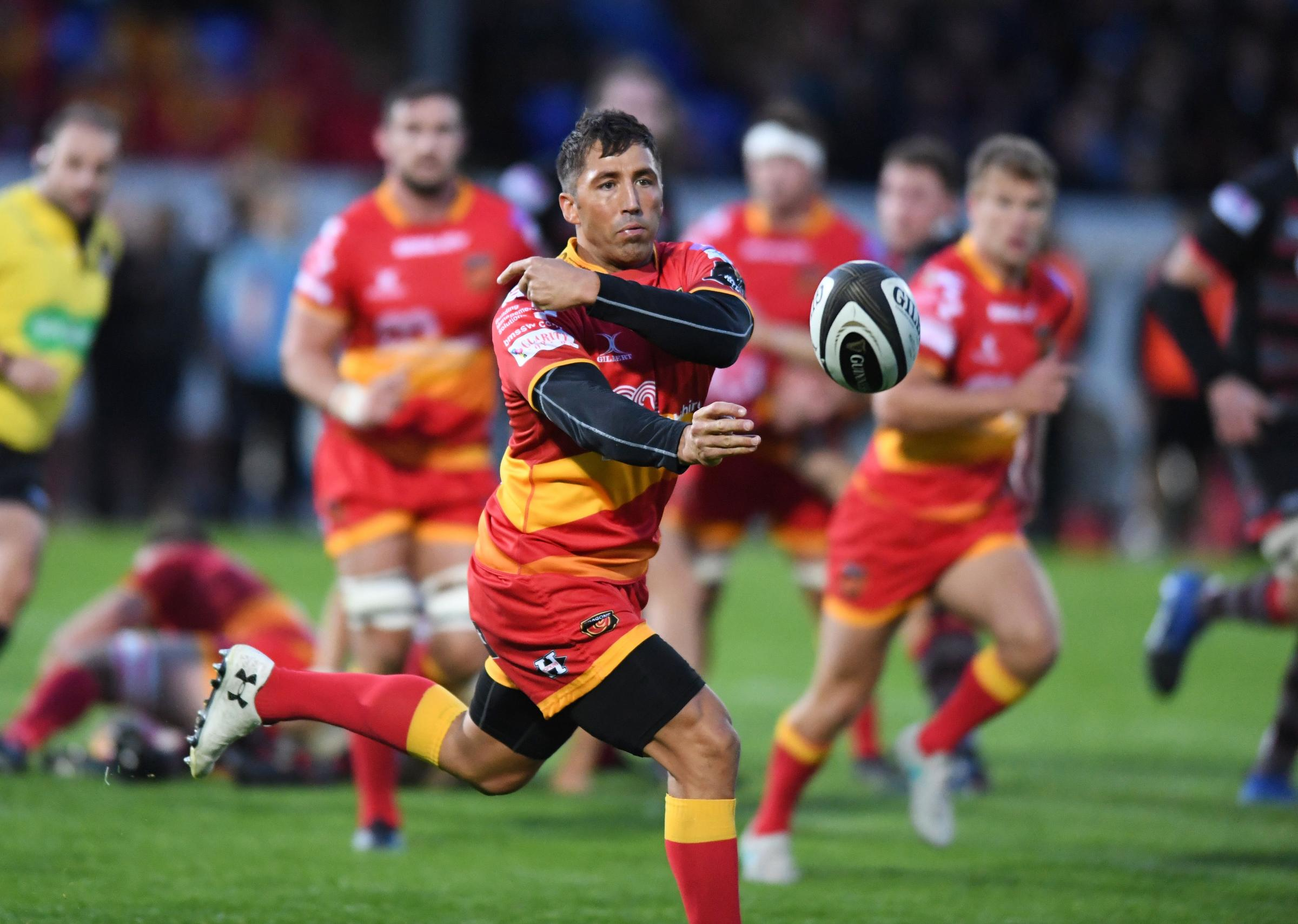Edinburgh 35 Dragons 18: Another away defeat for Rodney Parade region despite signs of attacking spark
