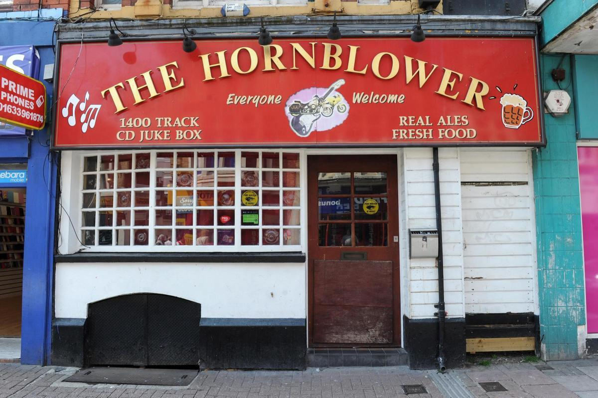 The former Hornblower Pub in Newport.