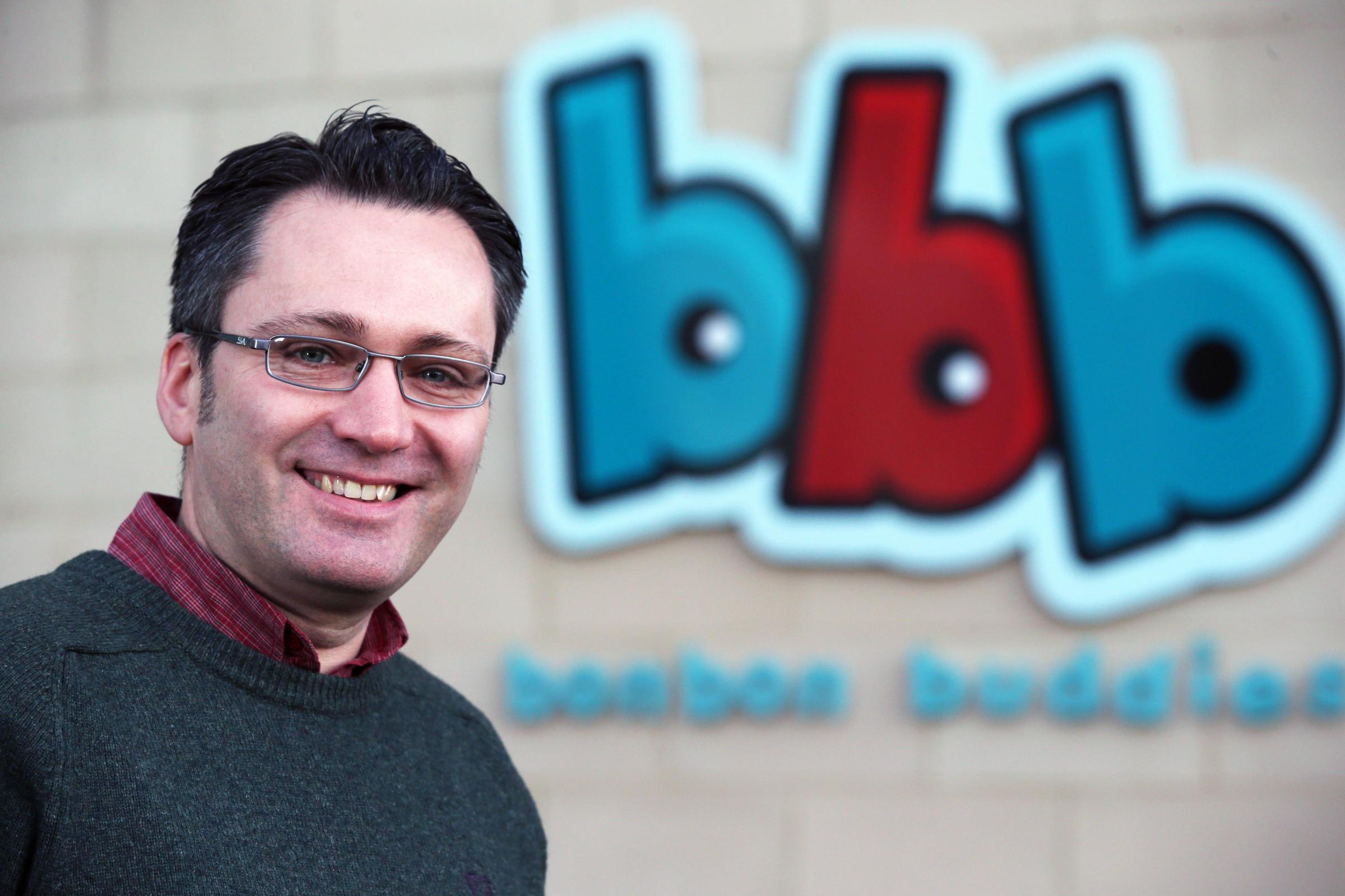 Justin Thomas, managing director of Bon Bon Buddies