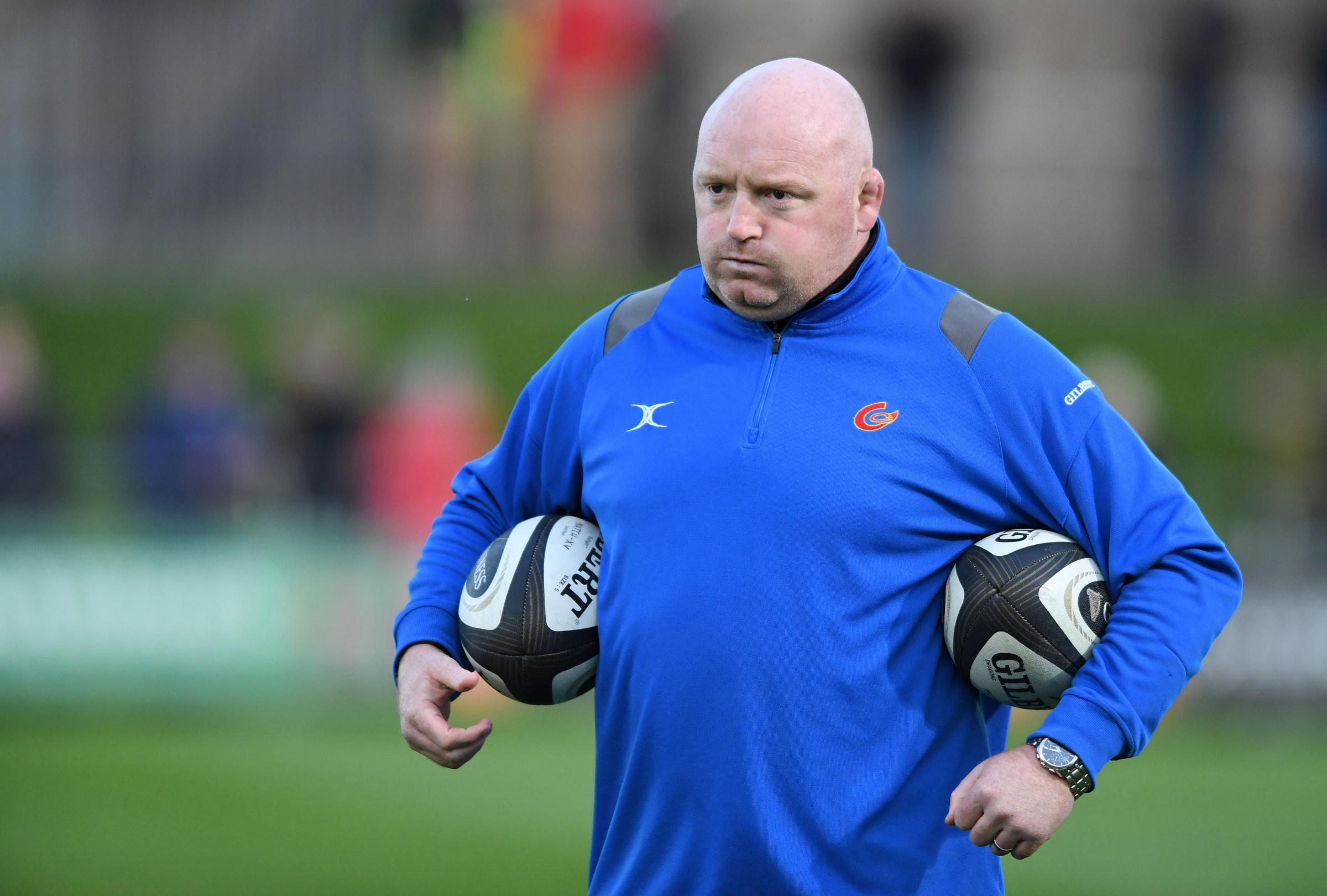 FRUSTRATED: Dragons head coach Bernard Jackman has told his fringe players to provide more bench impact