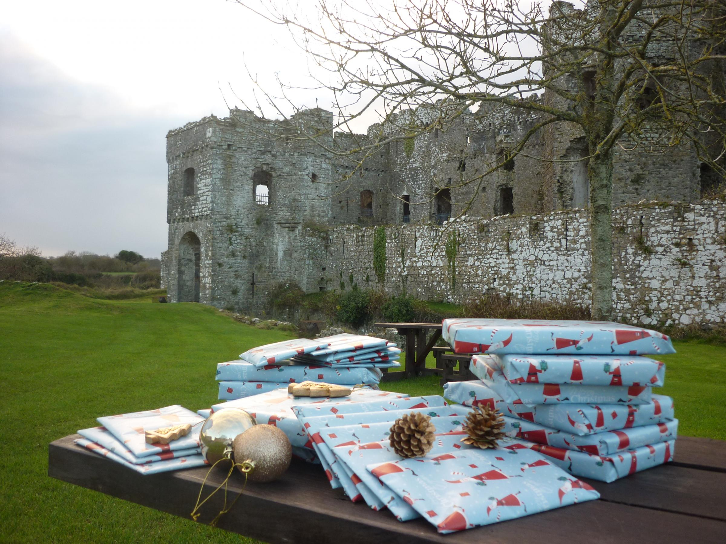 Carew Castle Christmas Fayre
