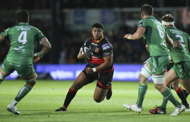 South Wales Argus: RESTED: Prop Leon Brown was one of the Dragons forwards to sit out Ulster after a big effort against Connacht