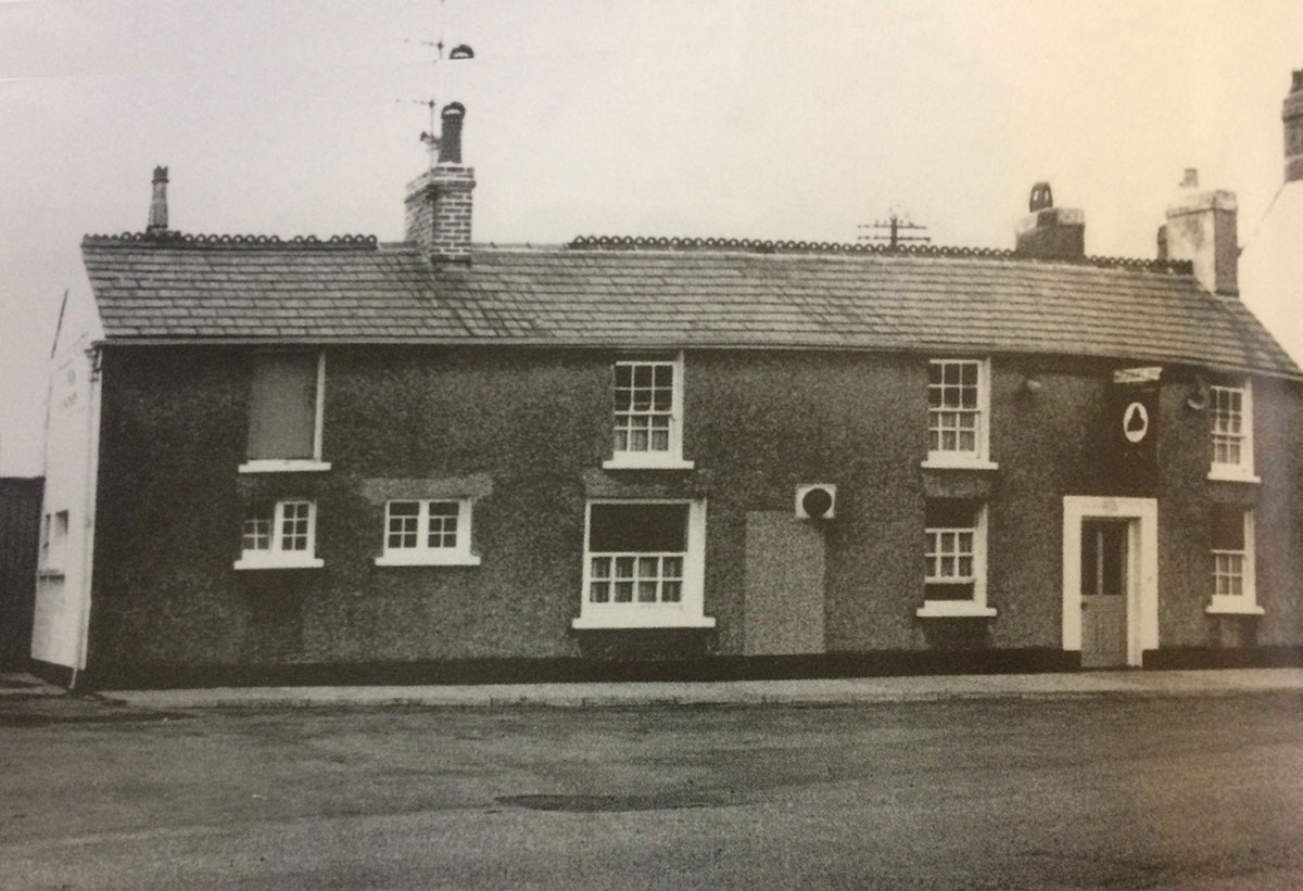 NOW AND THEN: Goldcroft Inn, Caerleon