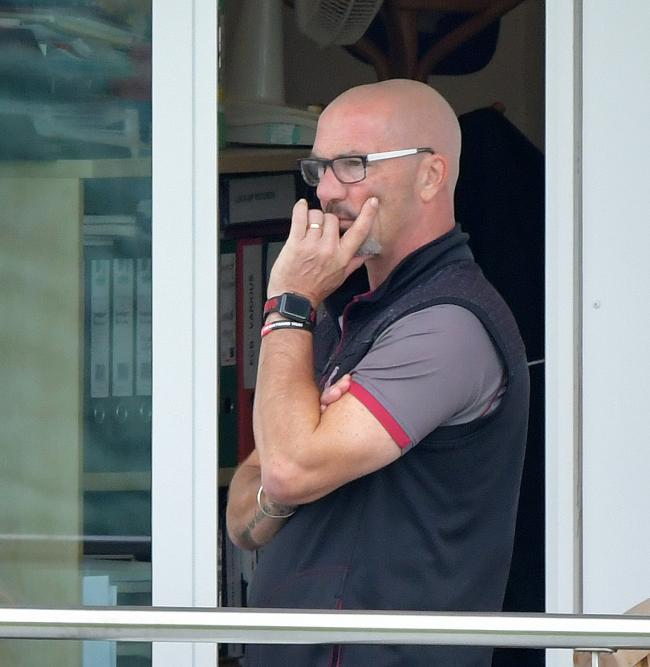 OPTIMISTIC: Glamorgan head coach Matthew Maynard