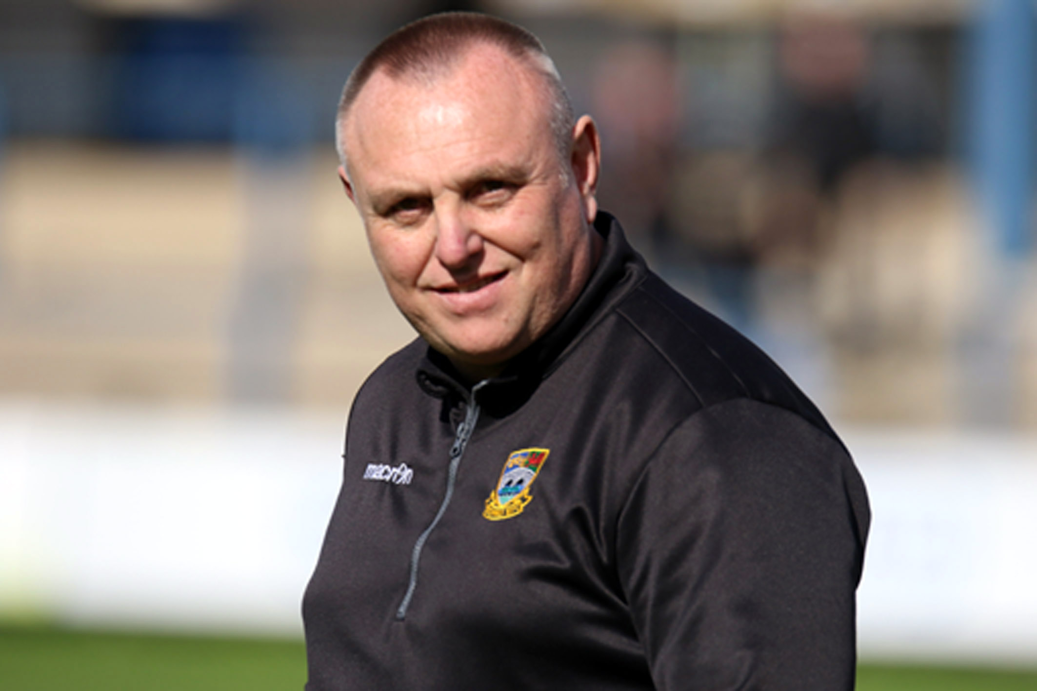 REUNION: Former Bedwas head coach Steve Law, now Cardiff's director of rugby