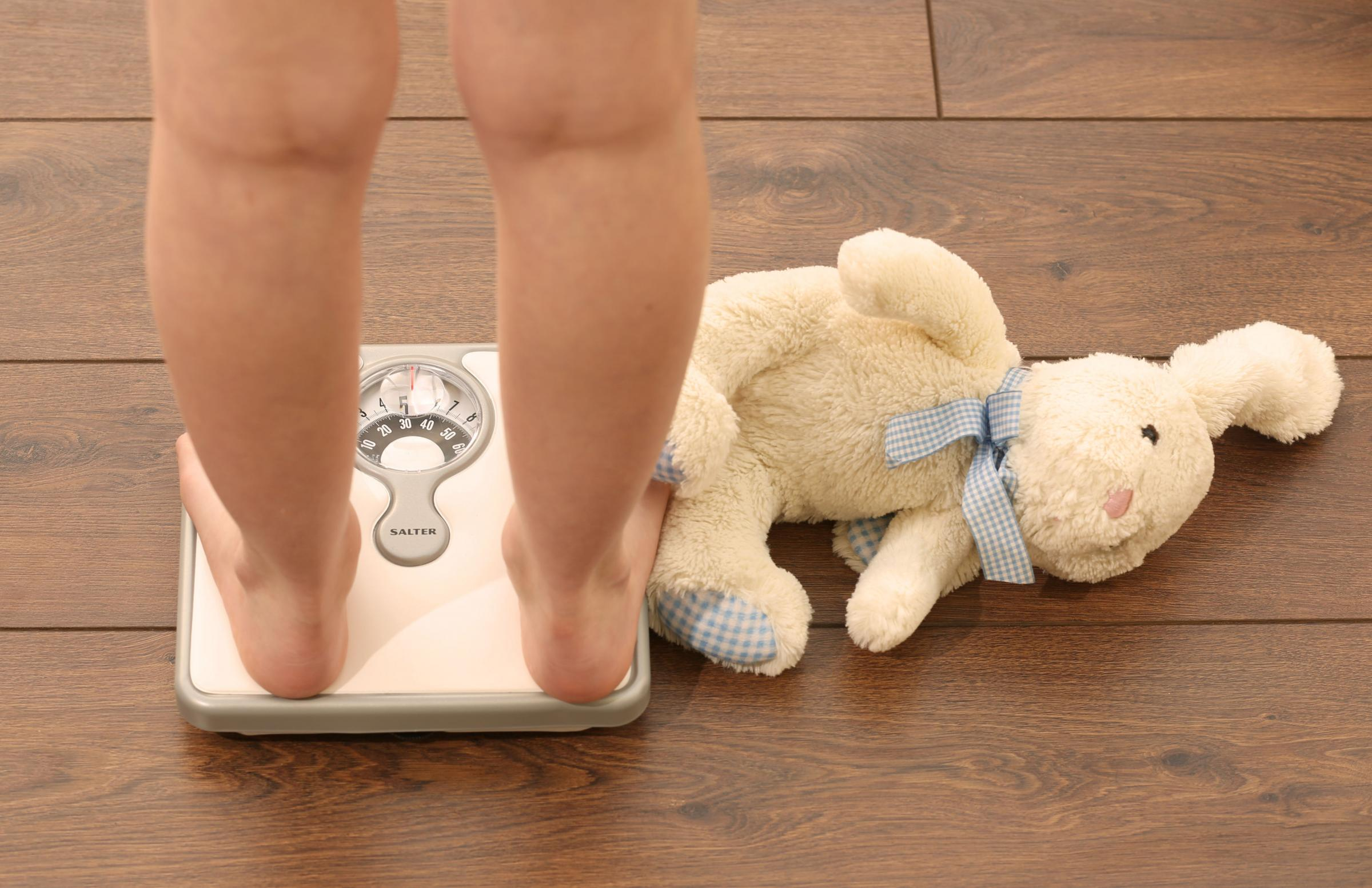 A total of around 12 per cent of children across Wales are obese