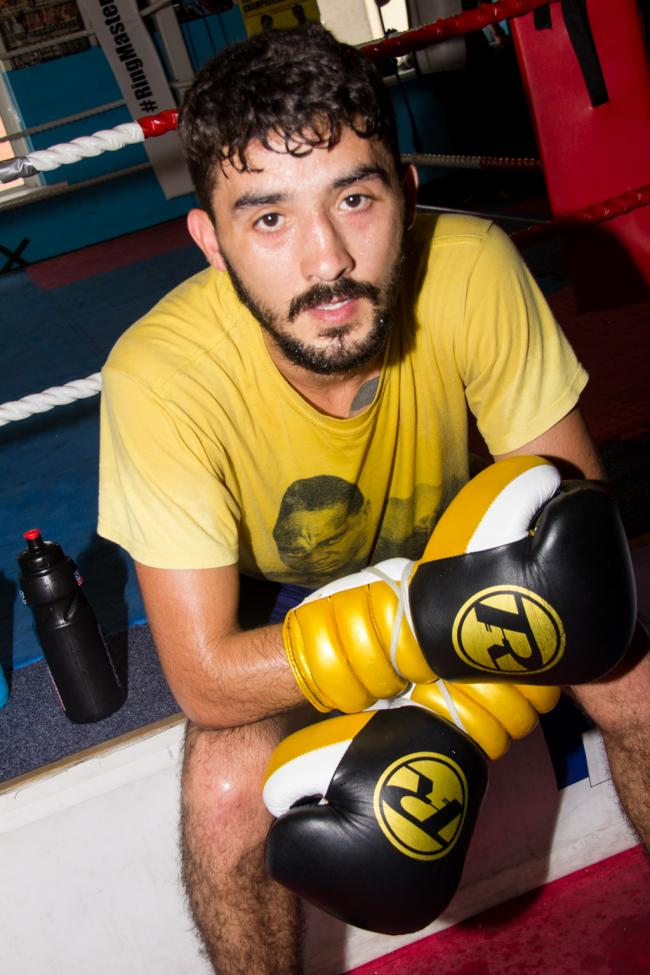 FOCUSED: Andrew Selby. Picture: www.liamhartery.com