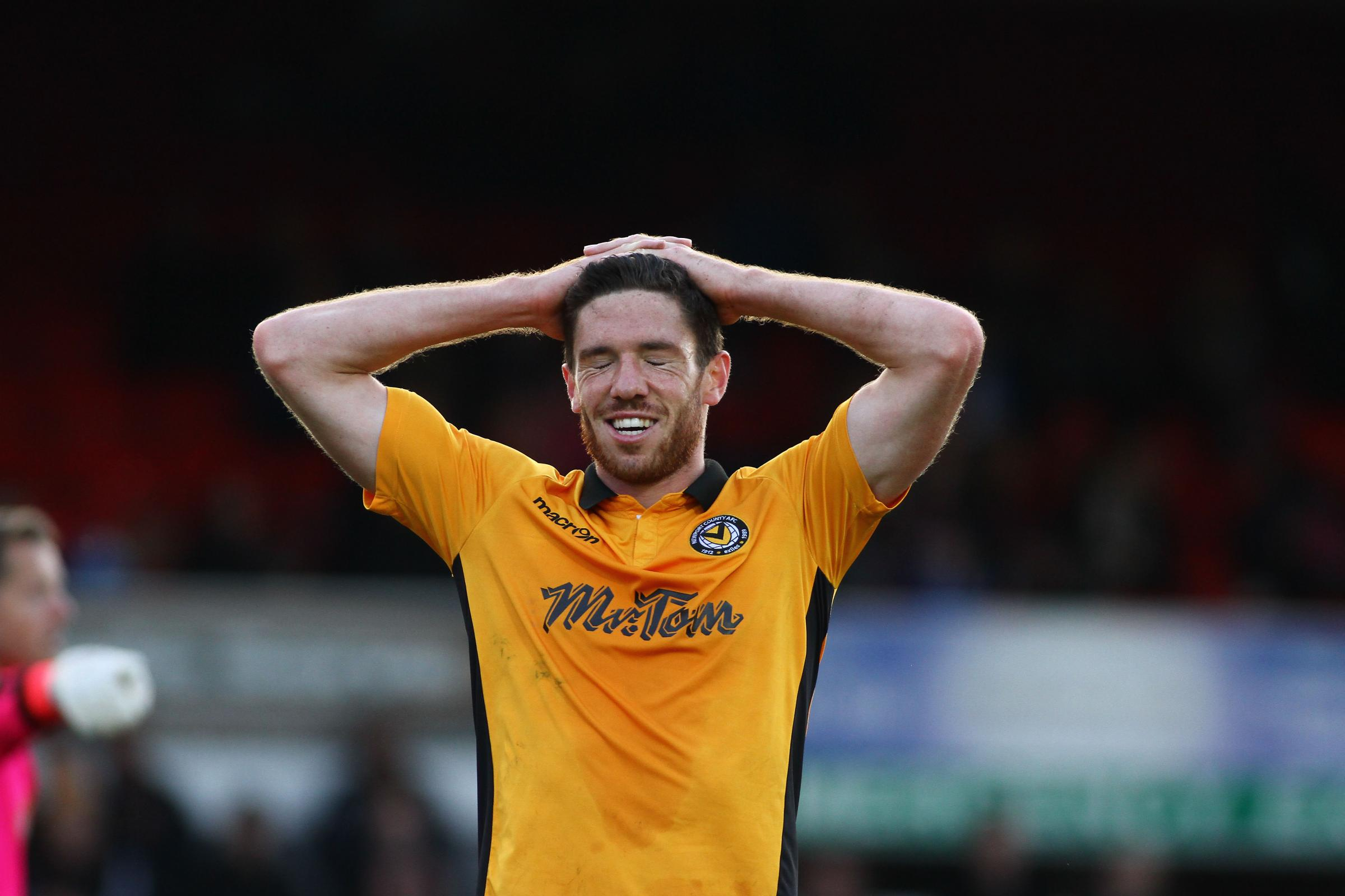 DIFFICULT: Newport County midfielder Ben Tozer suffered anxiety attacks after being axed by Graham Westley last season. Pictures: Huw Evans Agency
