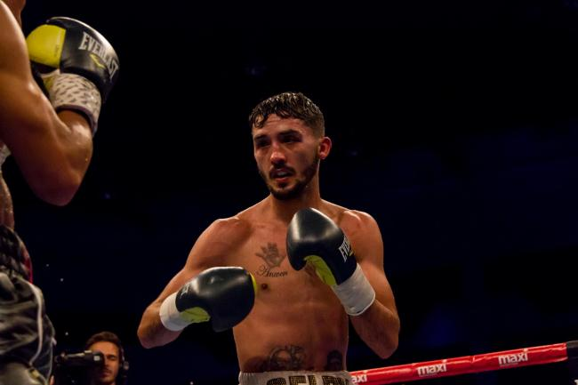 JOB DONE: Andrew Selby outpointed Maximino Flores at York Hall. Picture: www.liamhartery.com (from files)