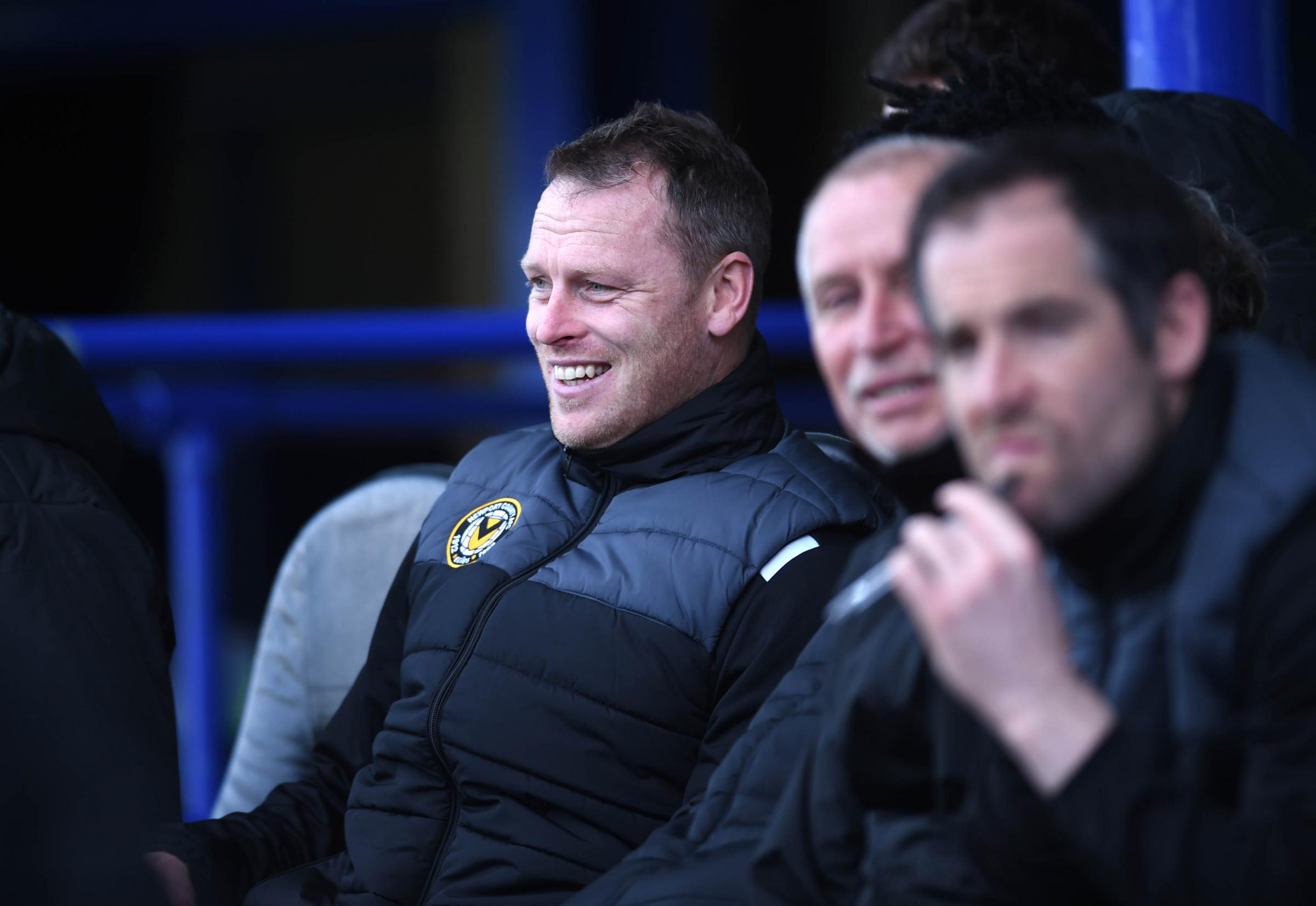 POPULAR: Newport County manager Michael Flynn has had plenty of friend requests this week