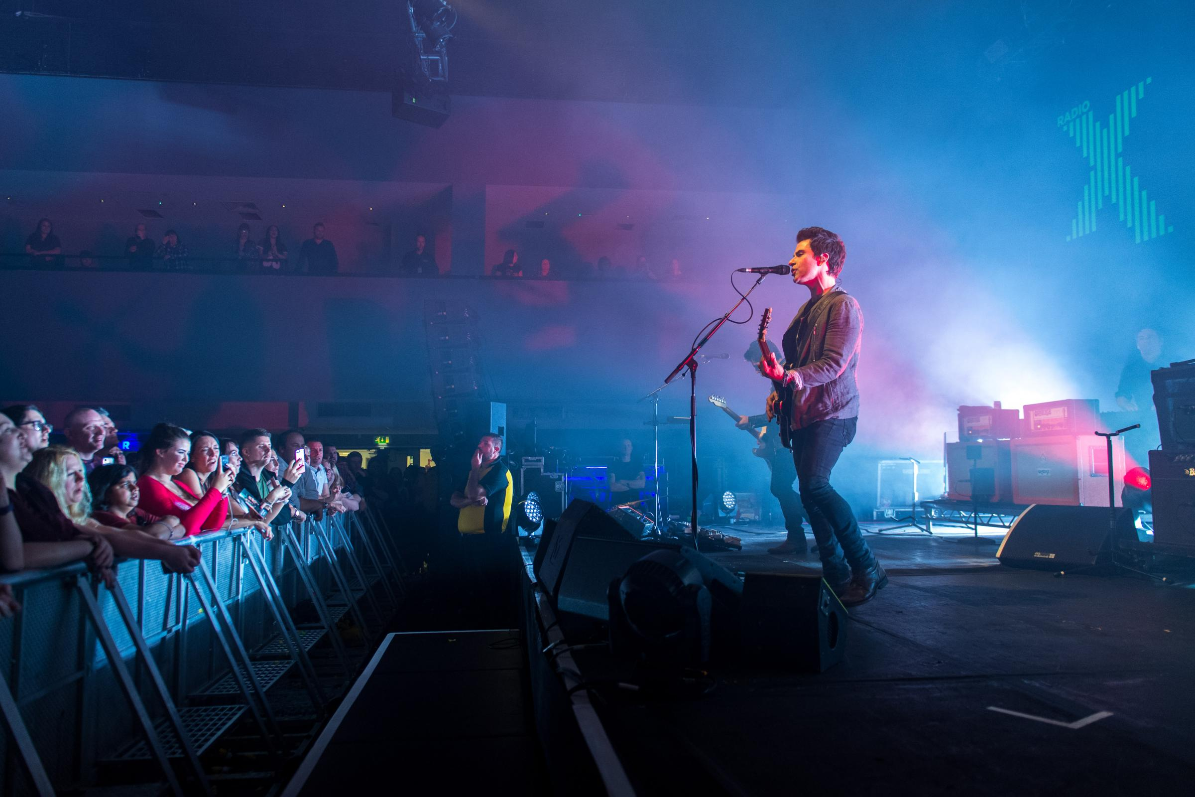 SHOW: Stereophonics performing an intimate gig for Radio X at Cardiff University's Great Hall on Thursday November 2