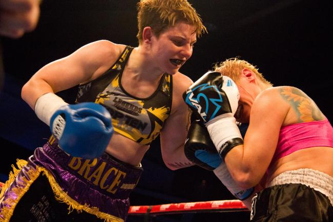 ALL CHANGE: Ashley Brace is now fighting in Merthyr Tydfil on December 15. Picture: www.liamhartery.com