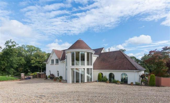 House linked to Lord Tredegar set in 14 acres up for sale by Roberts & Co