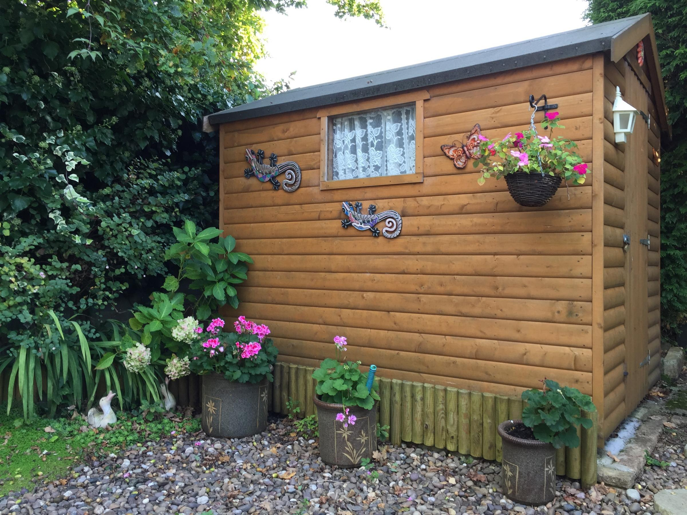 This week's shed comes from Cwmbran and has been sent in by Mrs Fletcher.