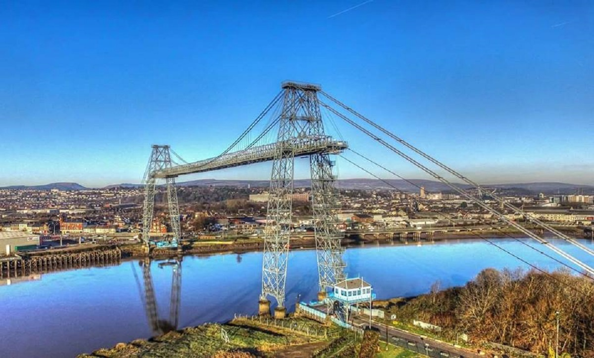 HISTORIC: Newport Transporter Bridge. Picture: South Wales Argus Camera Club member Roger Fuller.