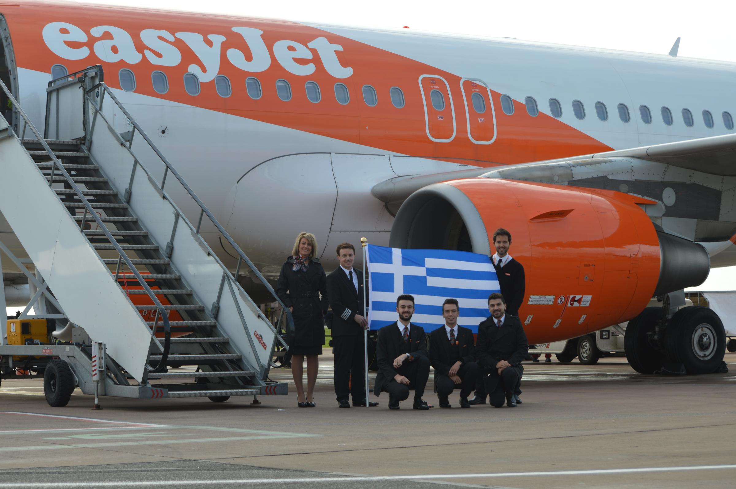 EasyJet has launched a service between Bristol and Athens
