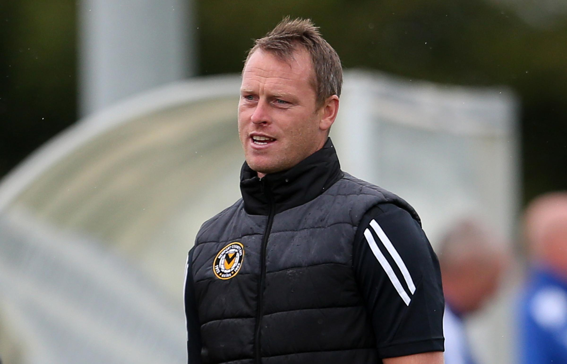 PLANS: Newport County manager Michael Flynn