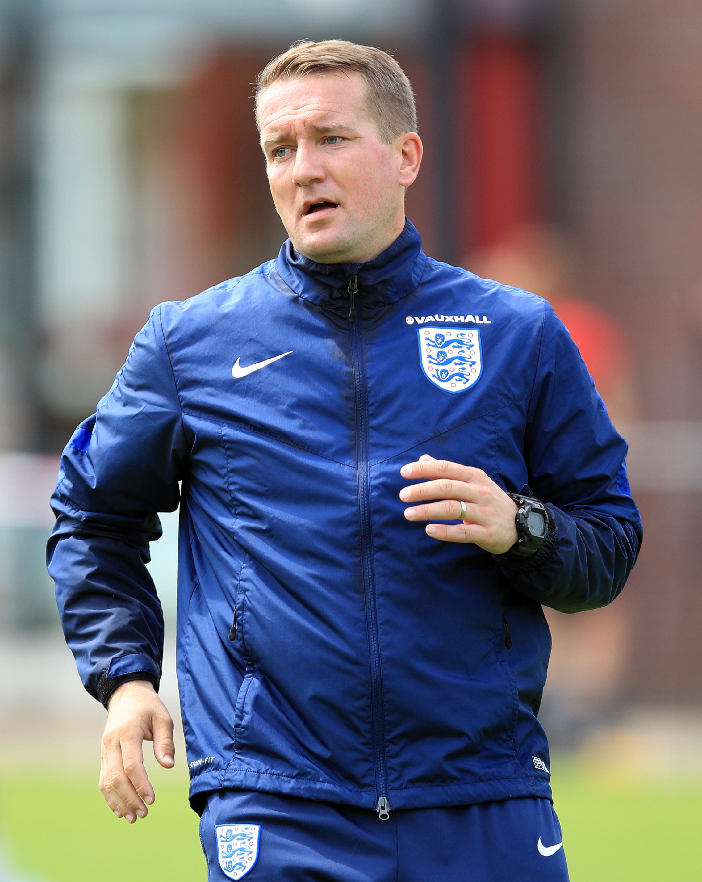 England Women's goalkeeping coach Lee Kendall, who was accused of speaking to Eniola Aluko in a Caribbean accent during her time with the national team. Picture: Mike Egerton/PA Wire