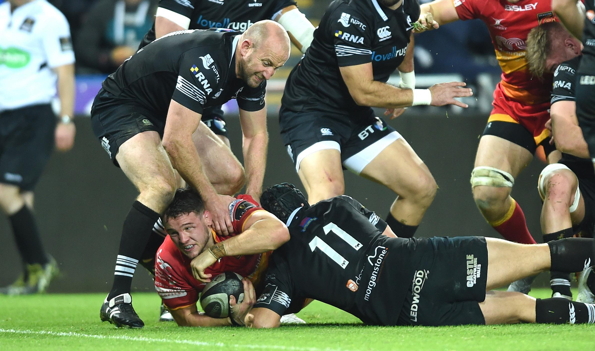 TEAM NEWS: Dragons name cited Dee in XV for Ospreys - but Henson misses out