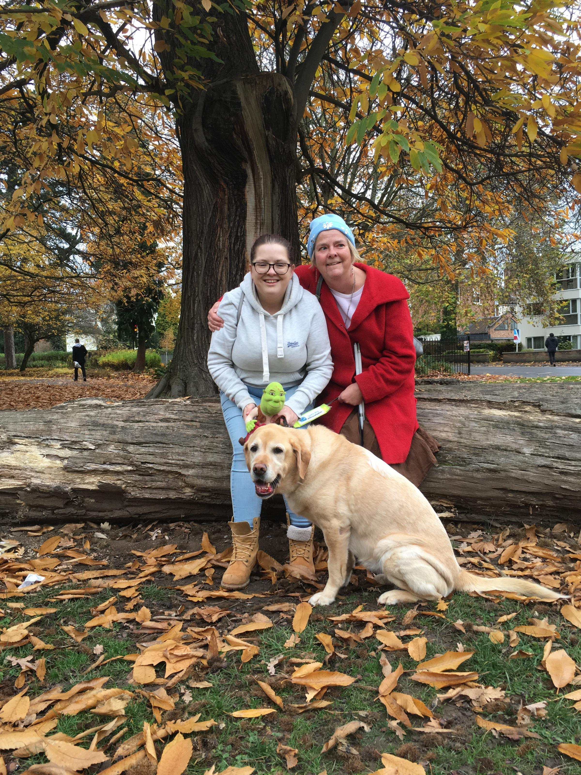 Tributes paid to guide dog