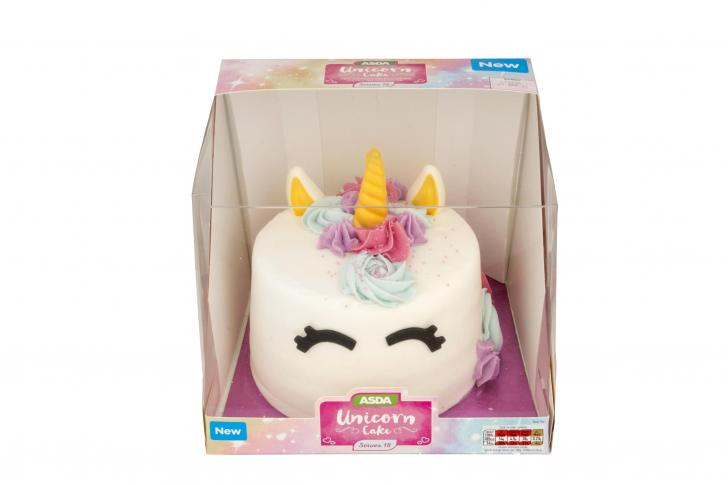Asda Launches Unicorn Cake That Looks Magical And Costs 10 South