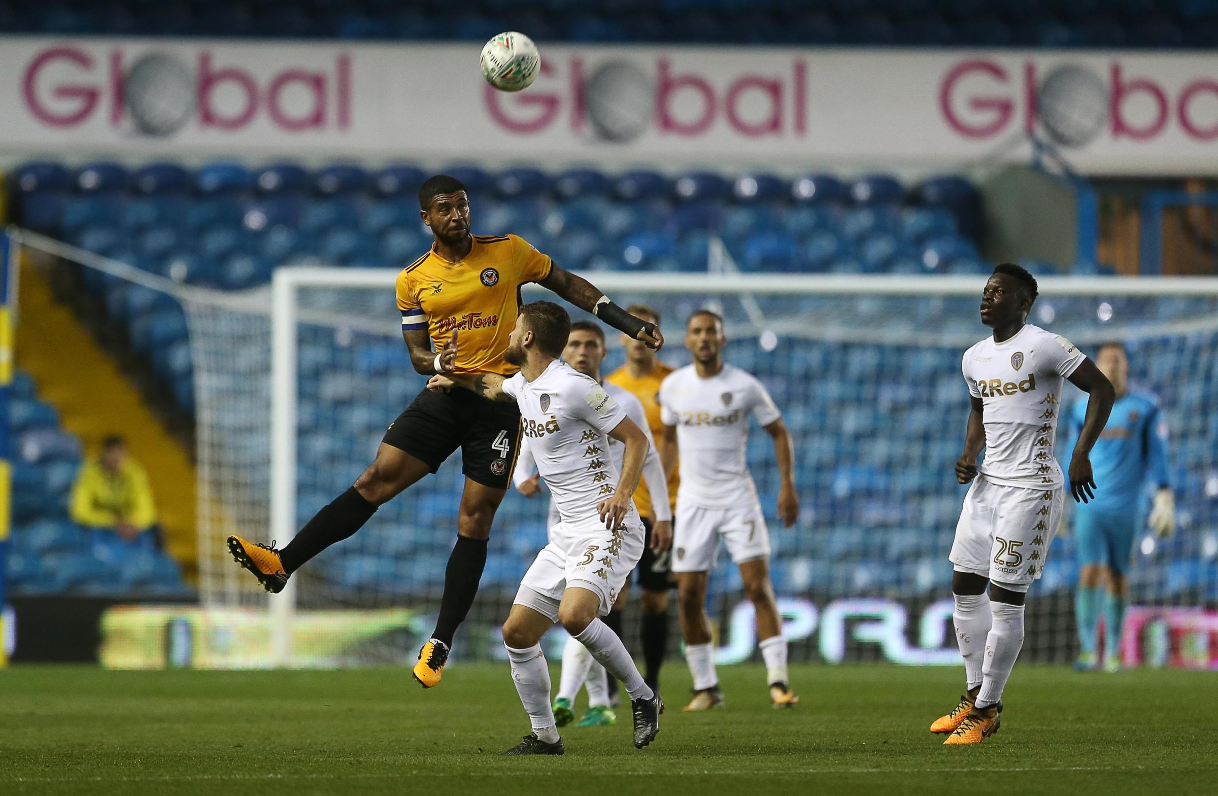 REMATCH: Newport County will take on Leeds United for a second time this season after August's Carabao Cup clash at Elland Road