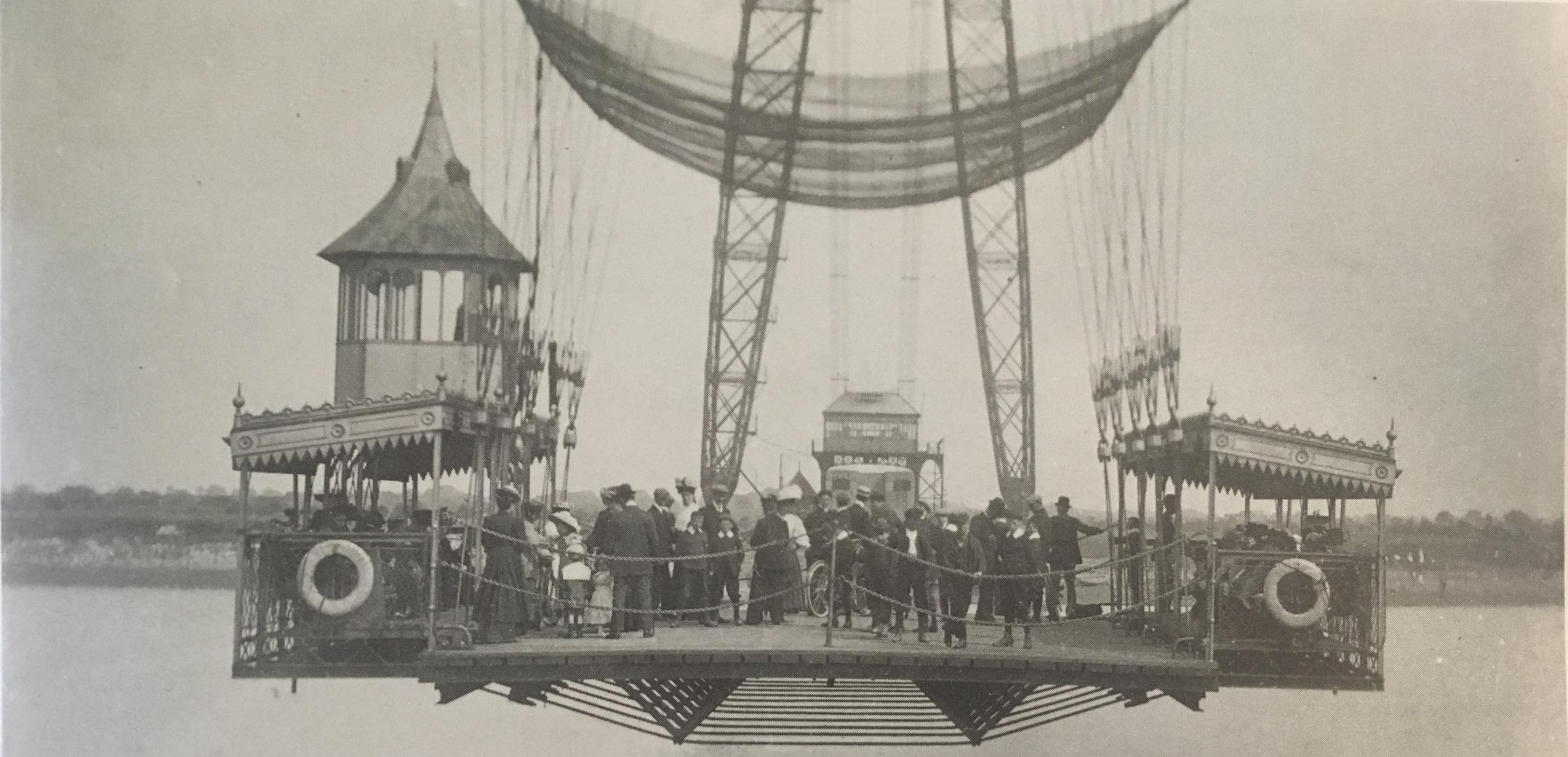 NOW AND THEN: The Newport Transporter Bridge