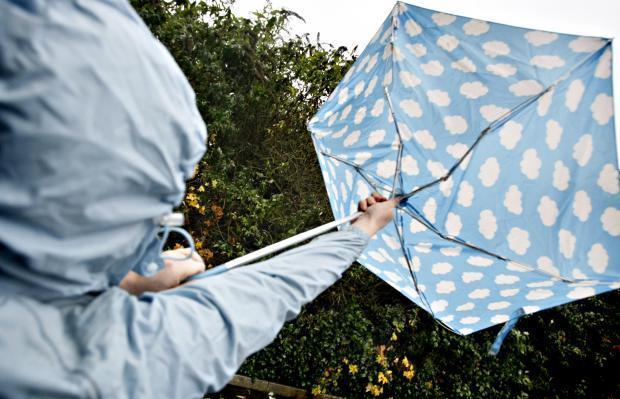 Weather warning issued as heavy rain and gales set to hit Gwent