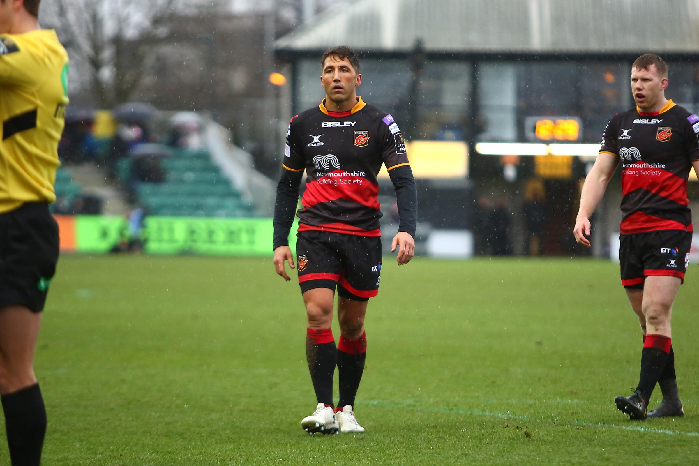 EXAMPLE: The Dragons dropped Gavin Henson for the Ospreys derby
