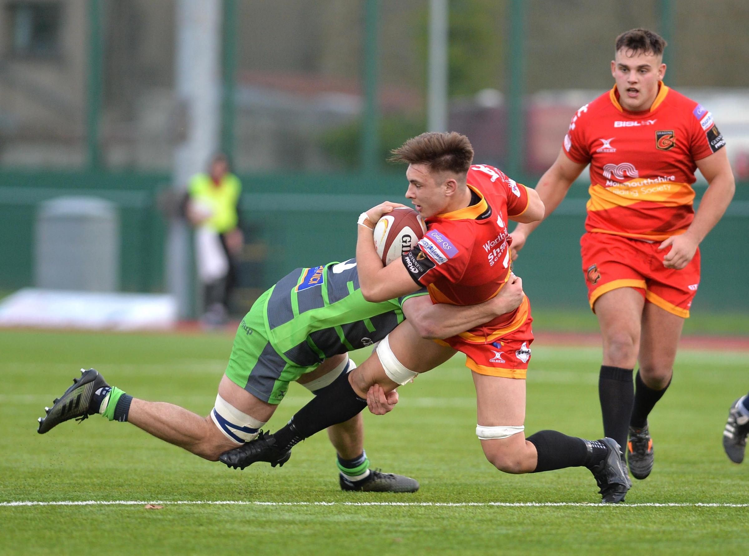 RAPID RISE: Last January Taine Basham made his full Bedwas debut, now he's starting for the Dragons