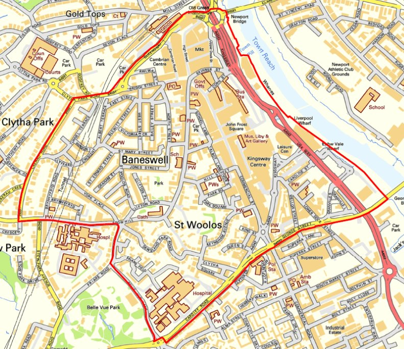 Police issue dispersal order in Newport city centre to tackle crime
