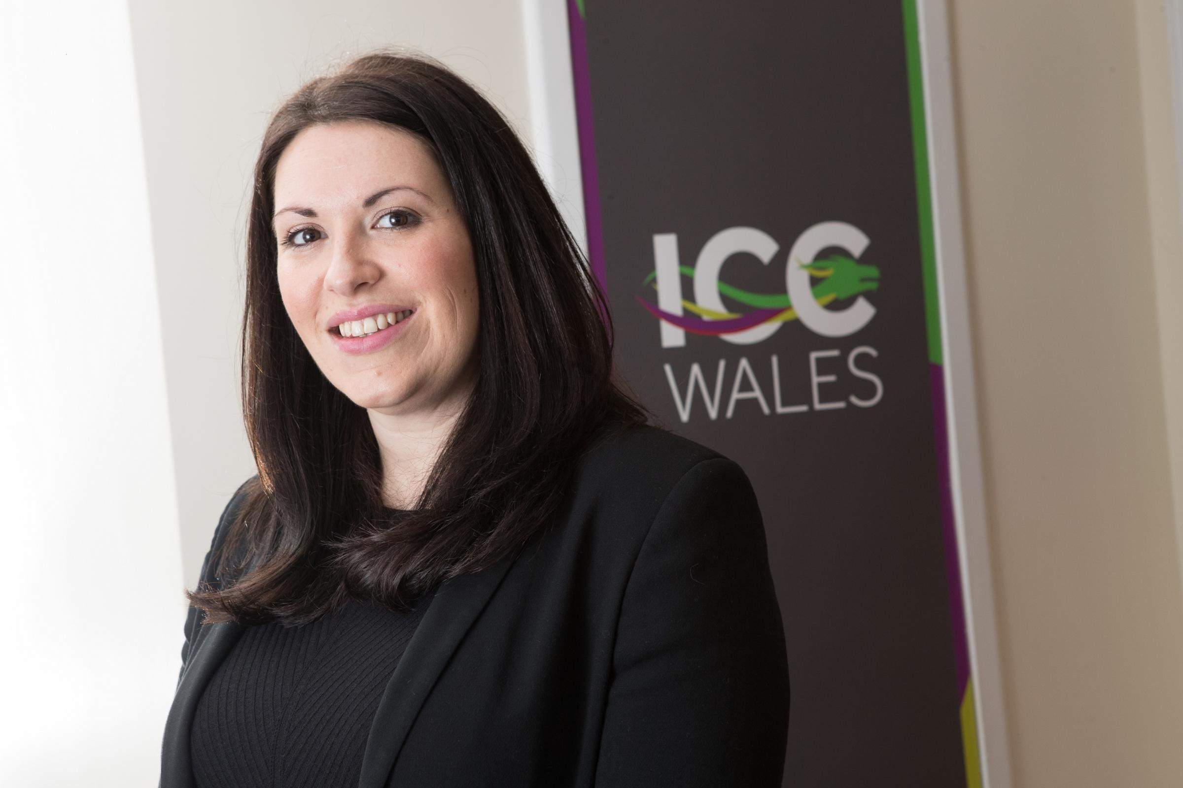Rebecca Green, Corporate Sales Manager, ICC Wales