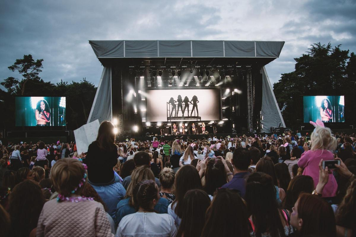 CONCERT: More than 15,000 fans saw Little Mix take to the stage in the grounds of Caldicot Castle and Country Park. Picture: Tom Damsell, Fragment Imagery