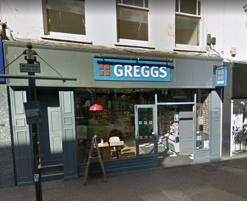 Greggs Planning To Open In The Parade Minehead South Wales Argus