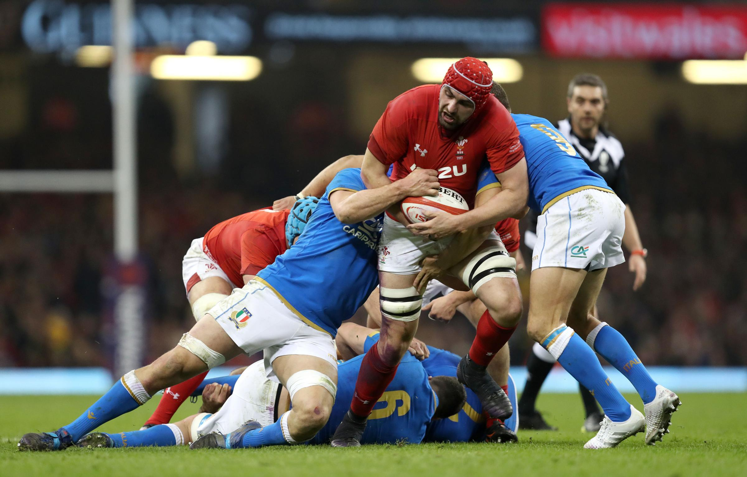 Wales 38 Italy 14: Gatland's men up to second ahead of France finale