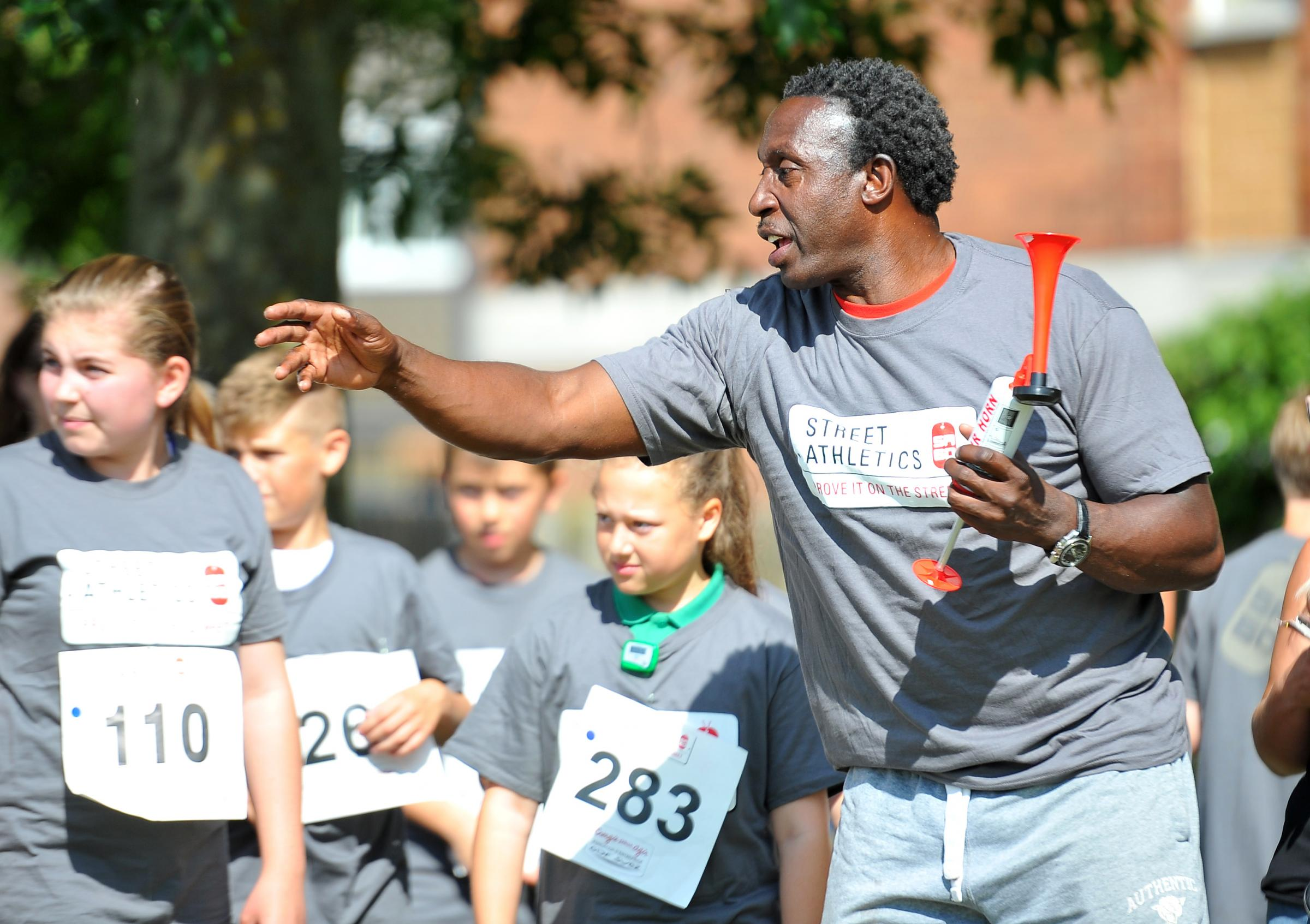 SPEAKER: Olympic champion Linford Christie will be the guest speaker at the South Wales Argus Sports Awards