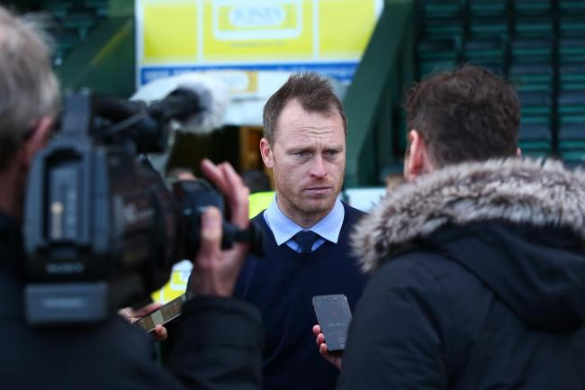 INTERVIEW: Newport County manager Michael Flynn speaks to the media after Saturday's win at Yeovil Town. Pictures: Huw Evans Agency