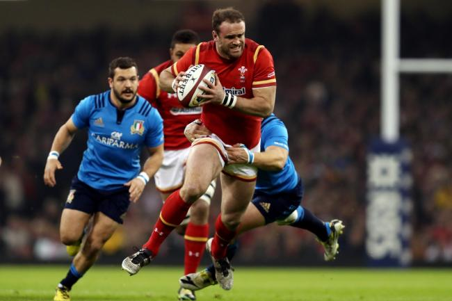 TARGET: The Dragons are in talks with Jamie Roberts