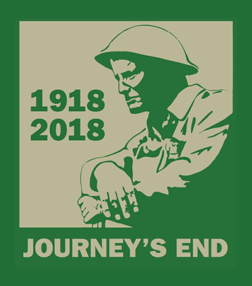 COMMEMORATION: The logo for Journey's End